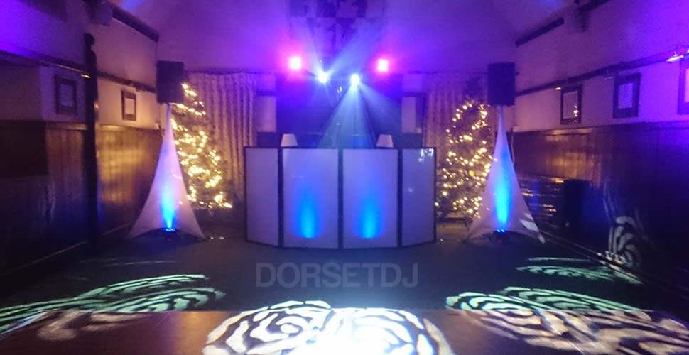 Athelhampton House Wedding Party Disco DJ